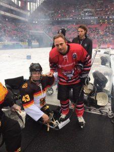 Bernhard Hering aus Dresden zusammen mit Headcoach Andreas Pokorny.